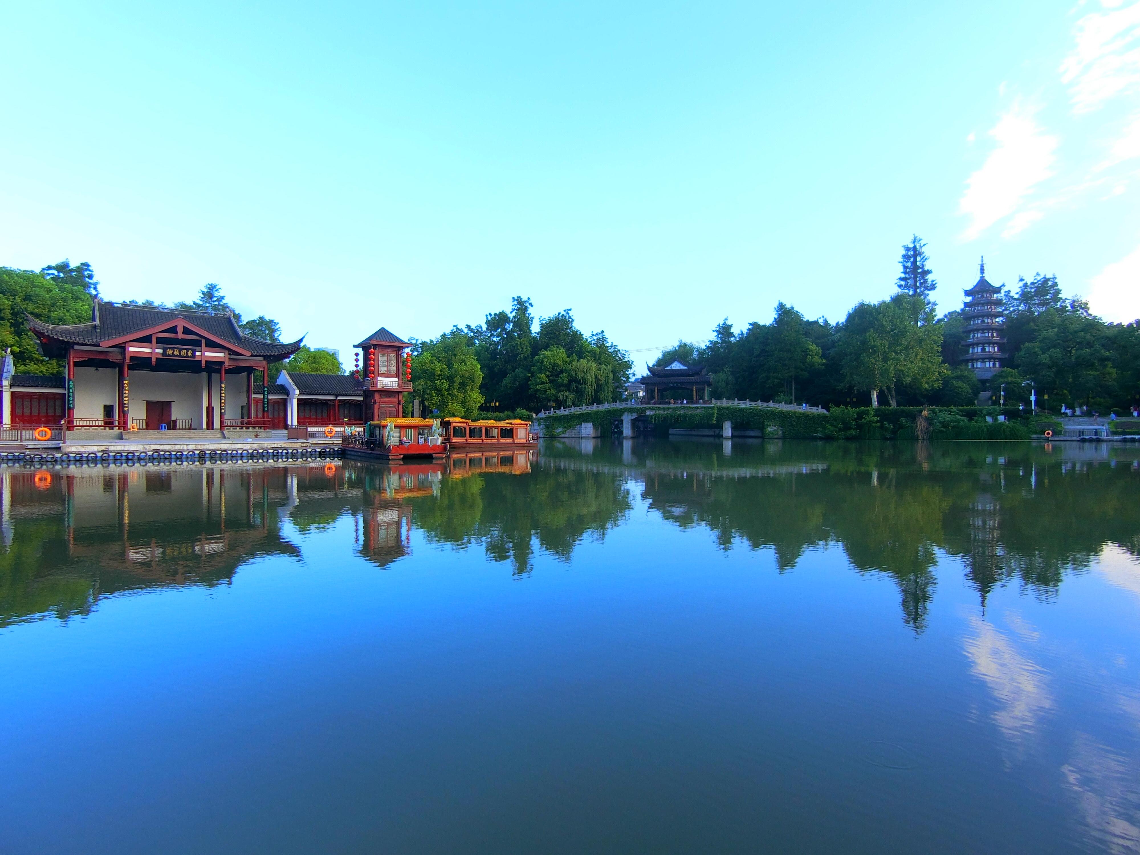 厦门白鹭洲公园 Bai Lu Zhou Park in Nanjing