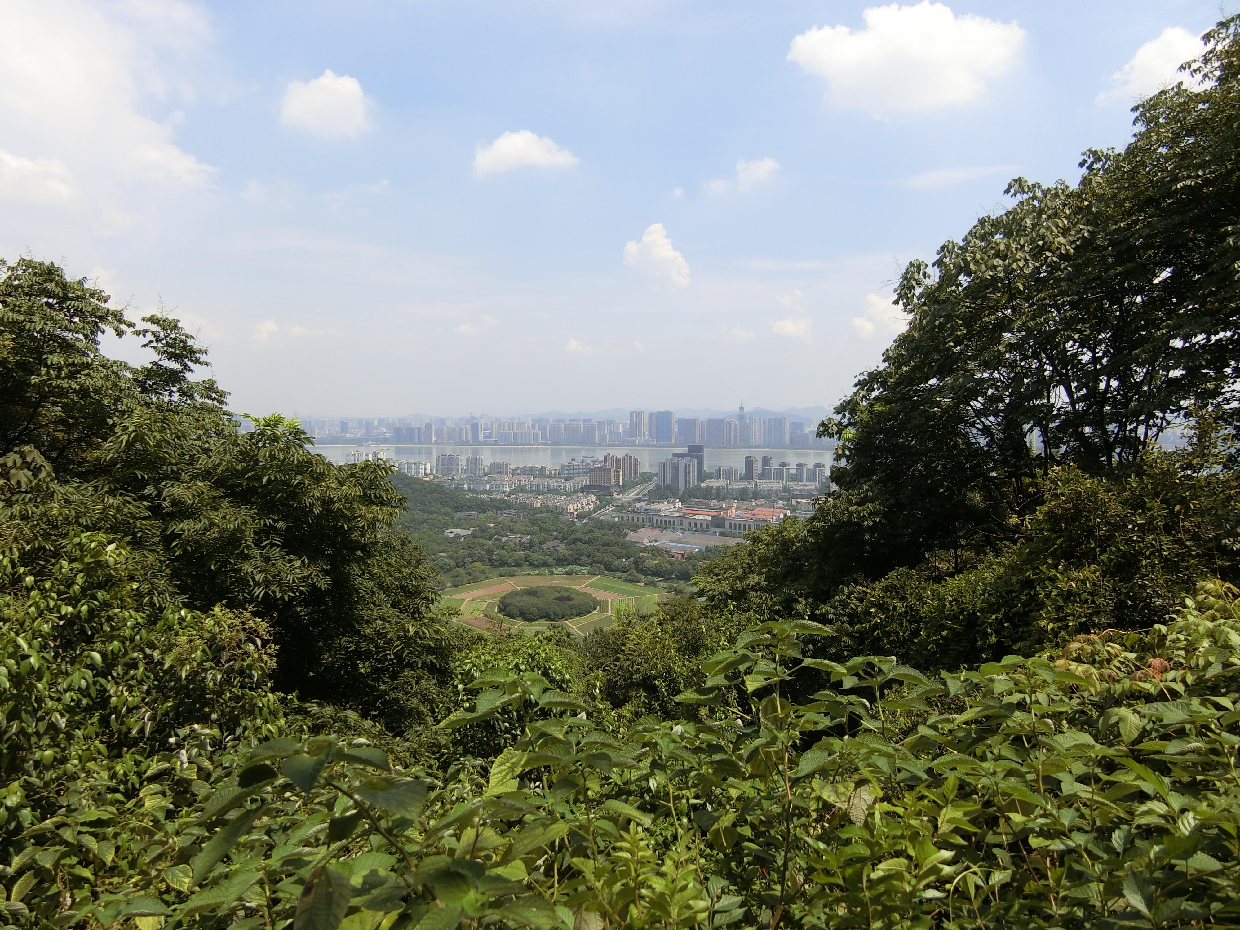 杭州玉皇山和八卦田 Hangzhou jade emperor Hill & Eight Trigram field